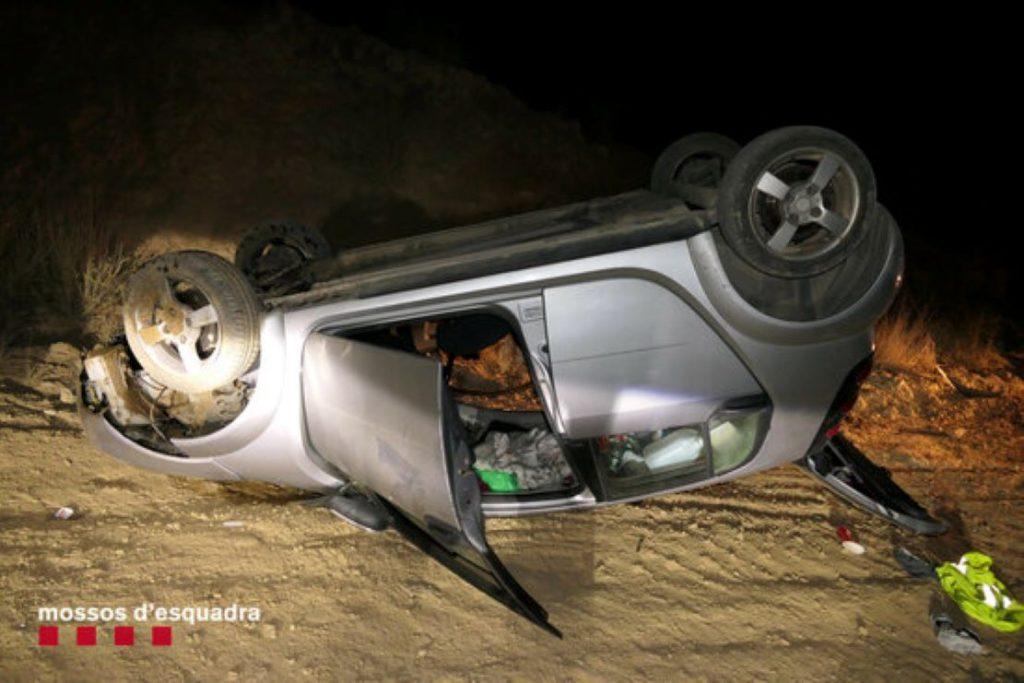Un marroquí de 20 anys atropella 3 joves i marxa del lloc de l'accident a Alpicat