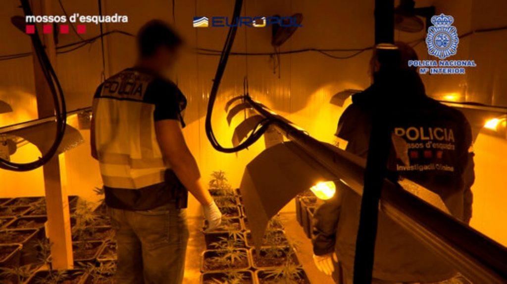 107 detinguts i la situació totalment descontrolada