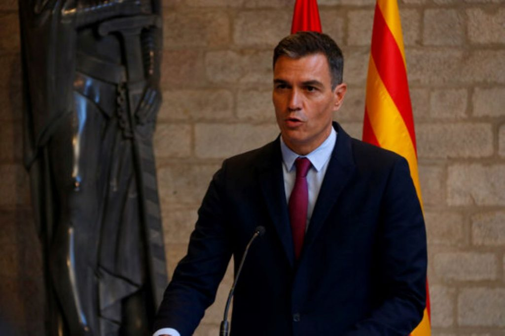 Acaba la reunió Sánchez-Aragonès