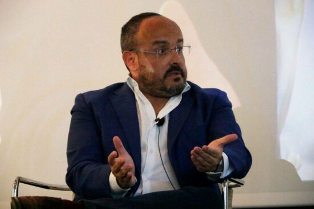Alejandro Fernández, president del PP a Catalunya