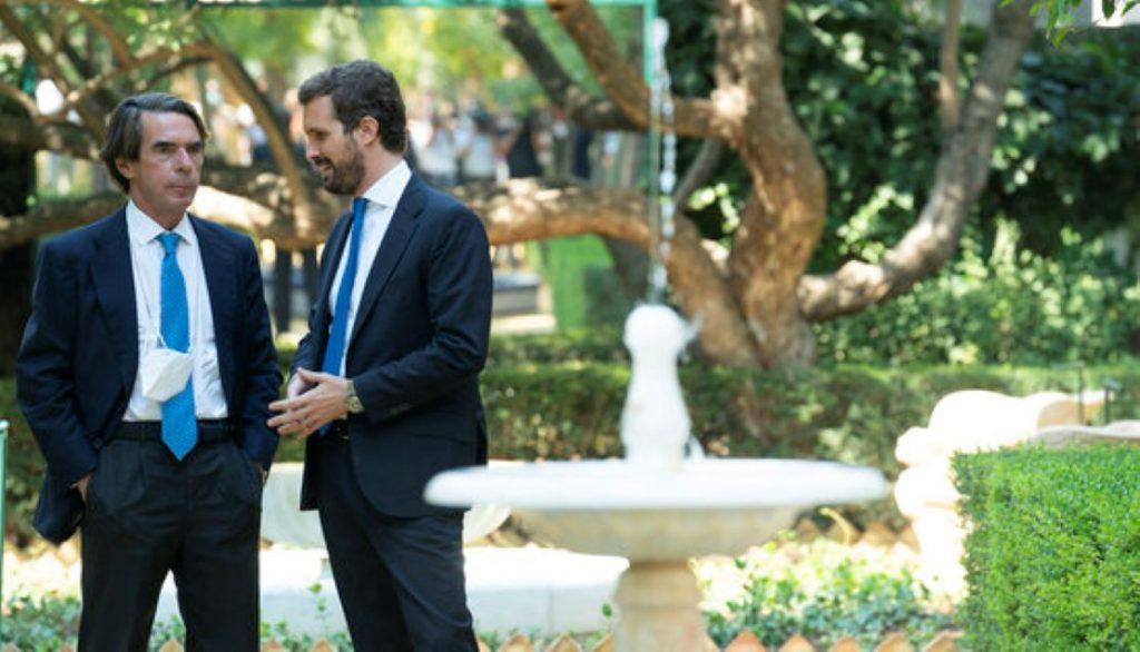Aznar amb Casado