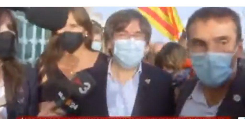 Carles Puigdemont és lliure
