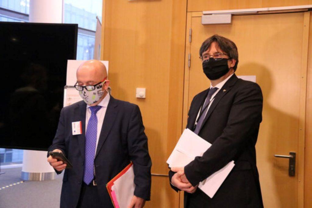 Carles Puigdemont i Gonzalo Boye