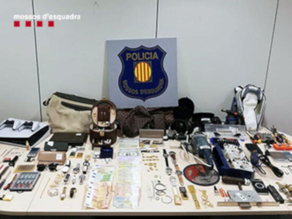 Cau un perillós grup criminal que actuava a Barcelona
