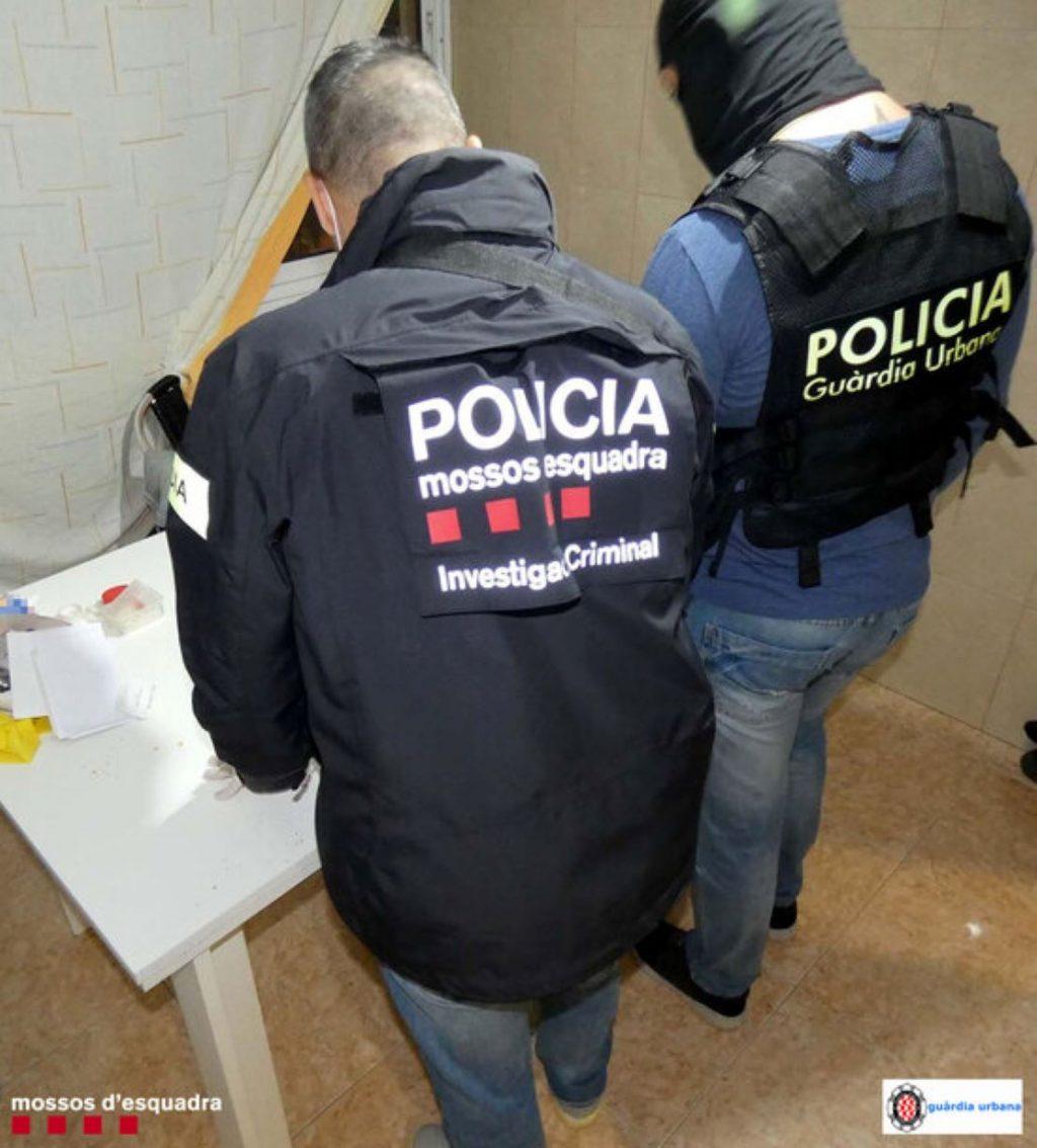 Detingut un narco marroquí molt jove que control·lava el tràfic de droga d'aquest barri de Tarragona