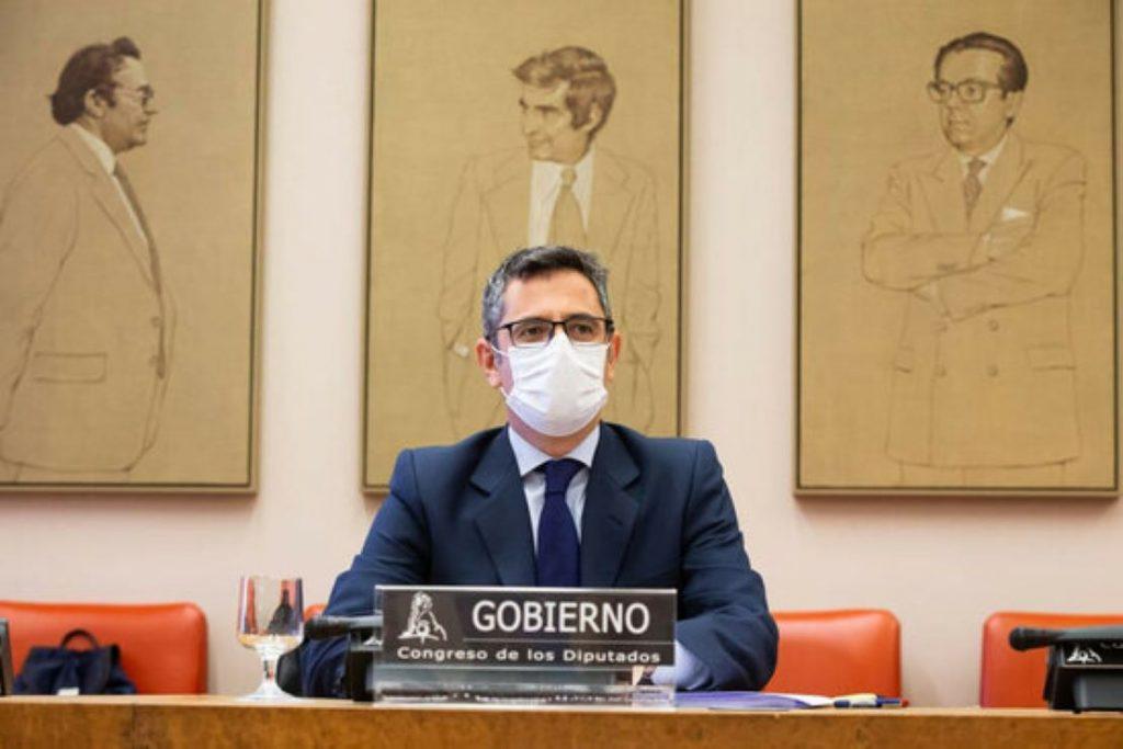 El Ministro Félix Bolaños