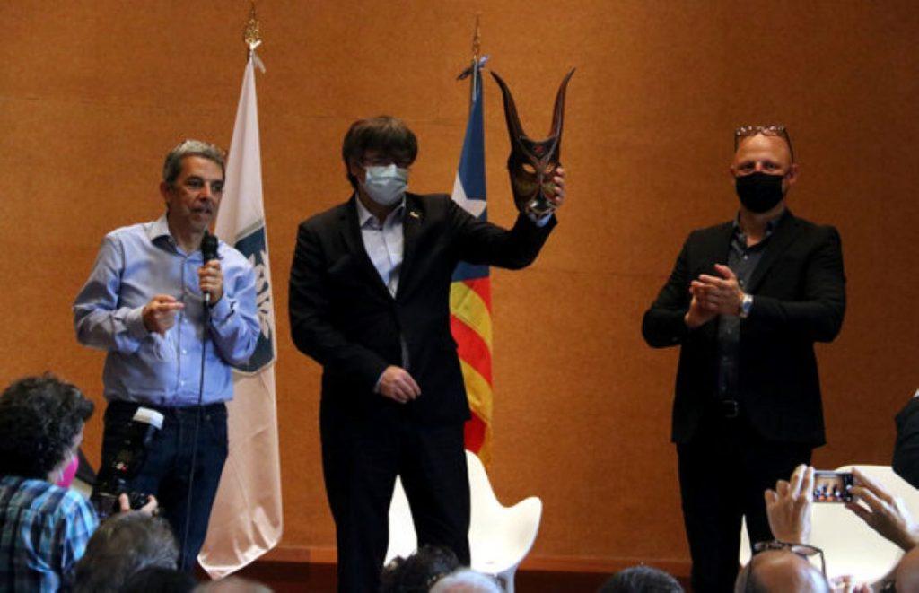 El missatge del President Puigdemont al poble sard