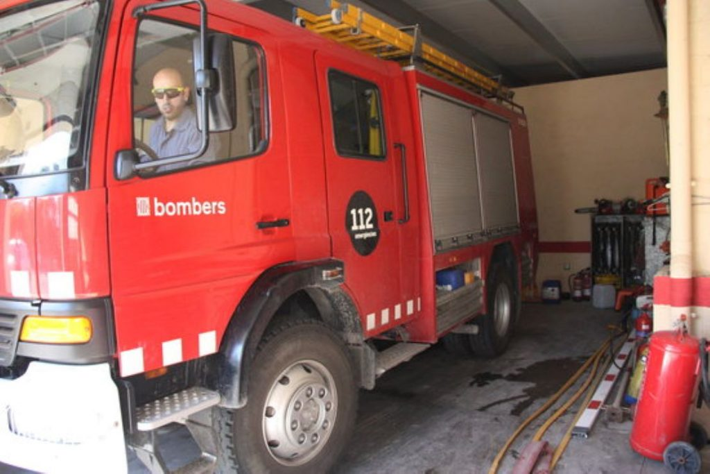 Ensurt per un incendi a un restaurant de Terrassa