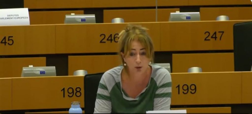 Eurodiputada irlandesa