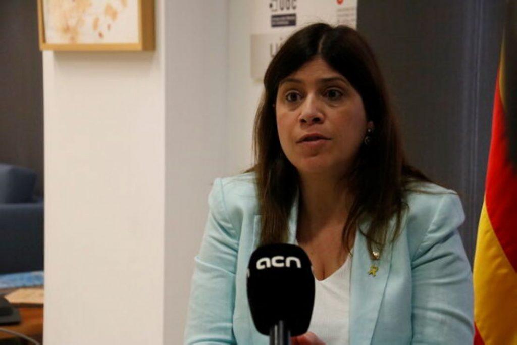 Cop d'efecte de la Consellera Gemma Geis pel català a les universitats
