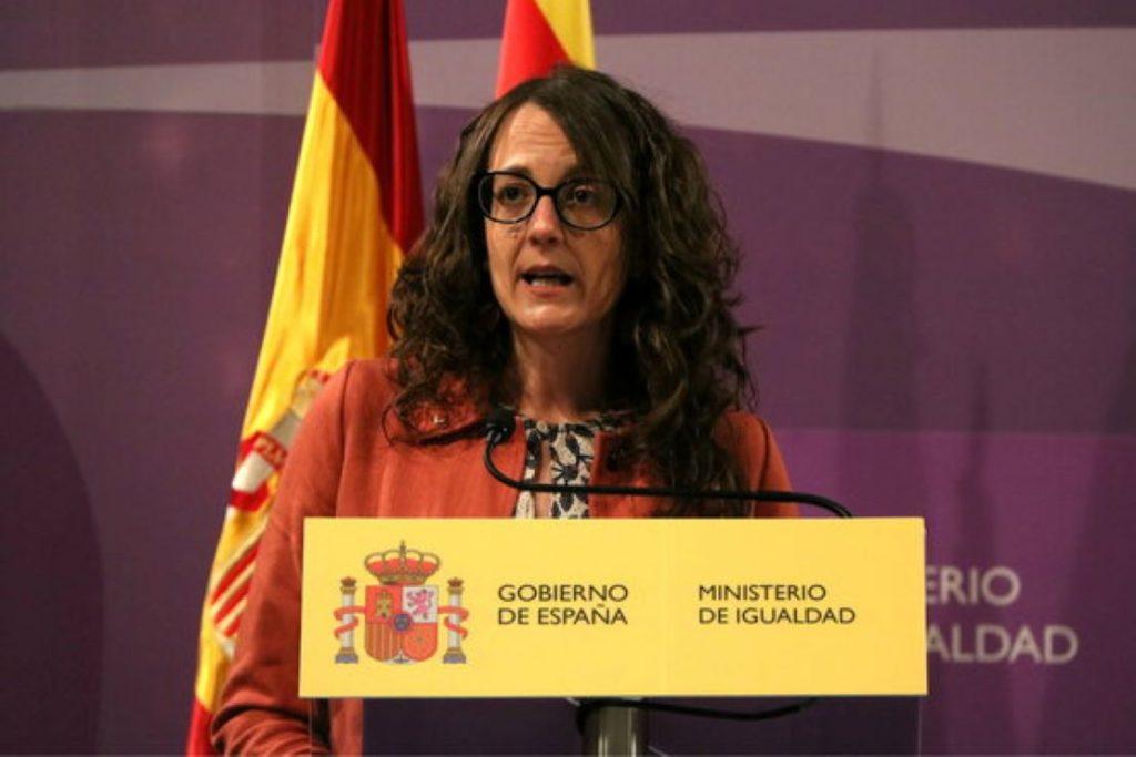 La Consellera Verge emocionada amb l'Espanya Fraternal després d'una reunió amb una Ministra espanyola