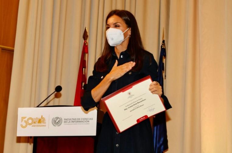 Letizia Ortiz a la UCM